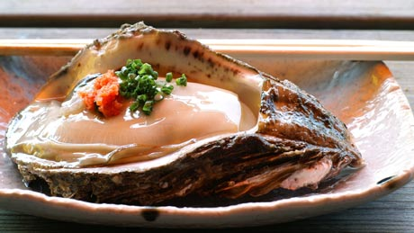 岩牡蠣料理