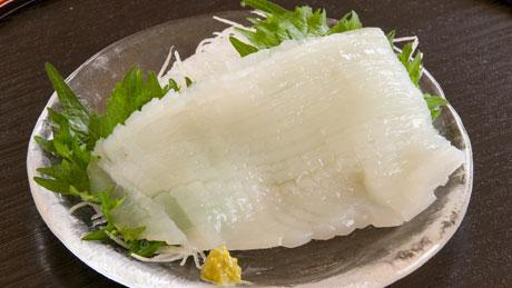 剣先イカ料理