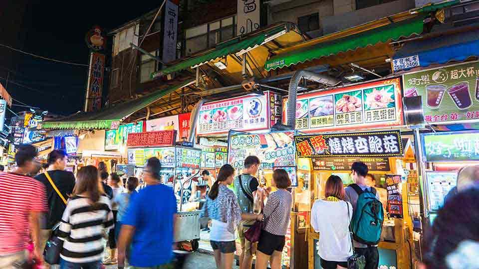 【台湾】屋台・B級グルメを満喫!台北から高雄の夜市5選