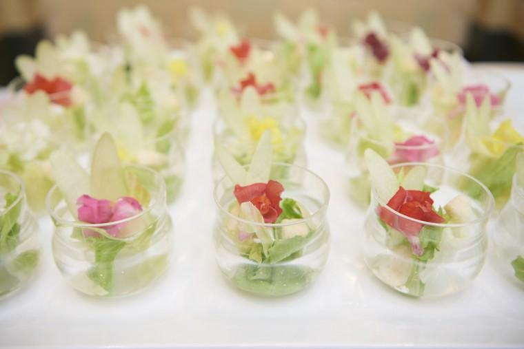 東京ディズニーランドホテル シャーウッドガーデン・レストラン 朝食 ティンカーベル ジャーサラダ