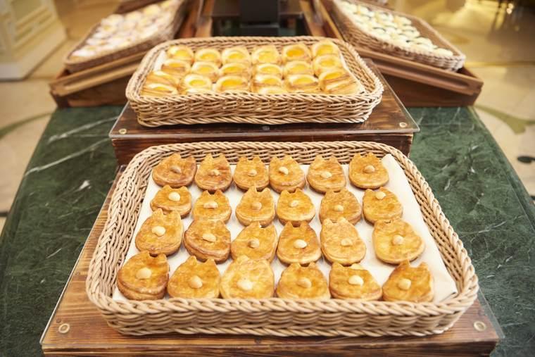 東京ディズニーランドホテル シャーウッドガーデン・レストラン 朝食ビュッフェ チップ&デール シュガーデニッシュ