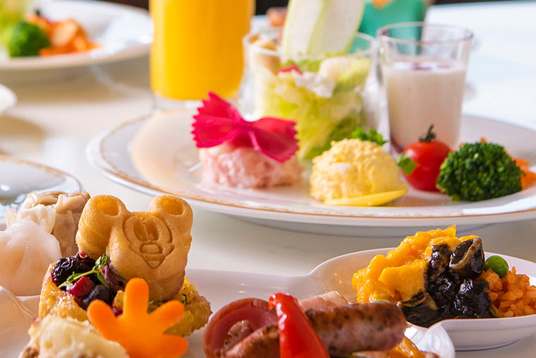 東京ディズニーランドホテル シャーウッド・ガーデンレストラン