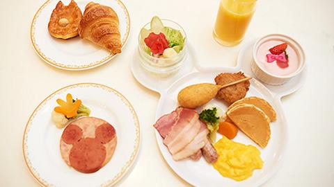 東京ディズニーランド(R)ホテルで食べられる!朝食ブッフェおすすめメニュー