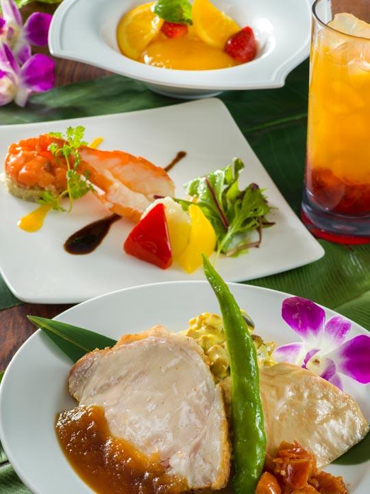 ポリネシアンテラス・レストラン ディナー