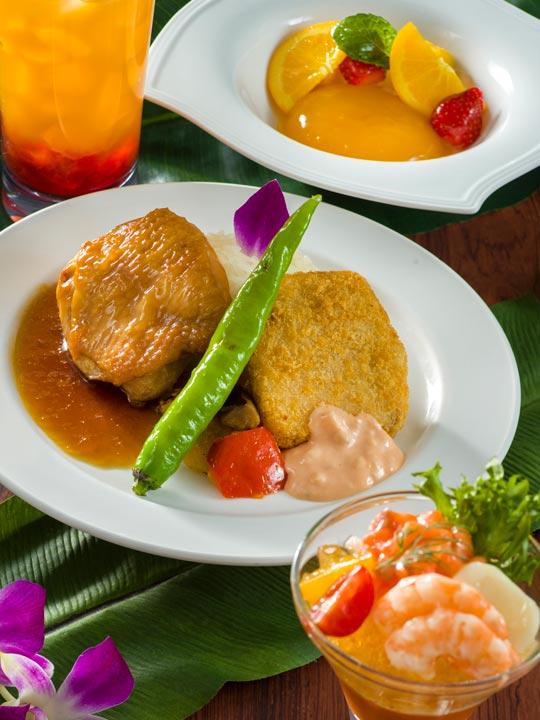 ポリネシアンテラス・レストラン ランチ