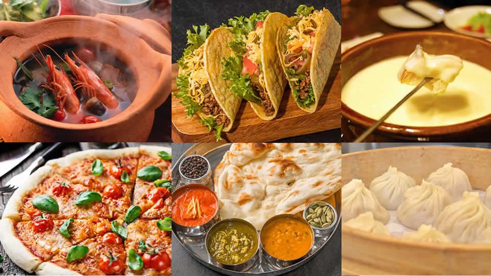 旅した人が選ぶ、世界のごはんの美味しい国・地域ランキング