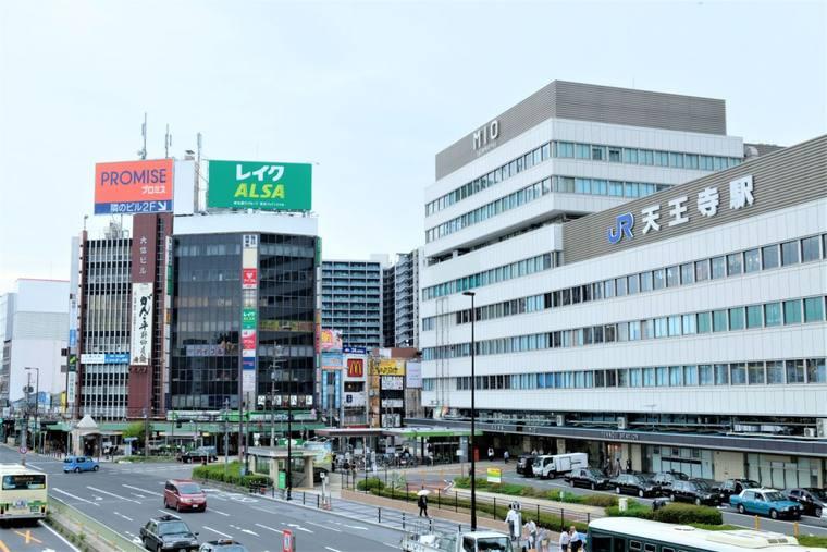 大阪 あべのハルカス、天王寺駅