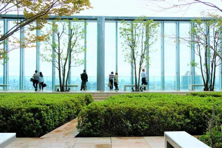 あべのハルカス美術館 庭園
