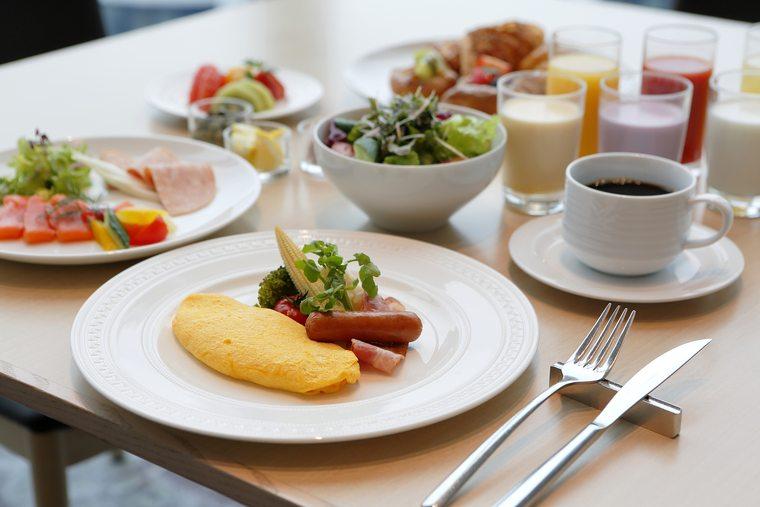 あべのハルカスで記念日デート『大阪マリオット都ホテル』朝食ブッフェ