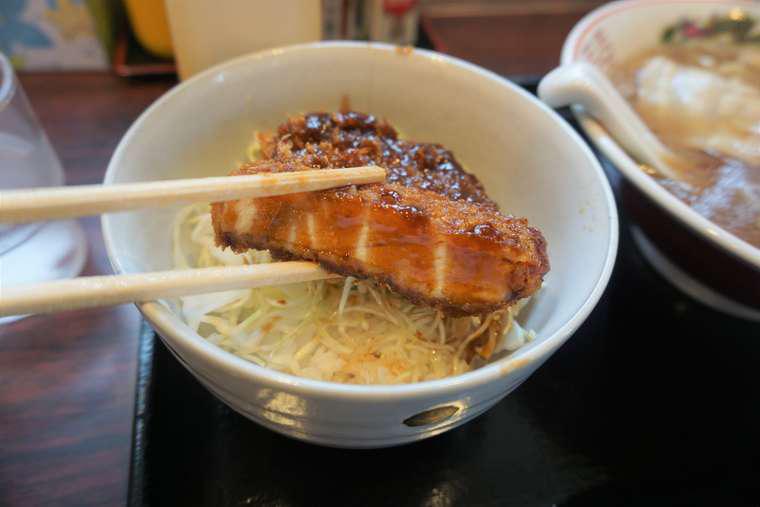 まるかた食堂 ソースカツ丼