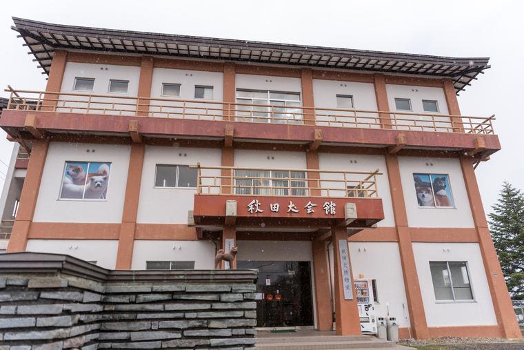 秋田犬の歴史を学ぶ「秋田犬会館」