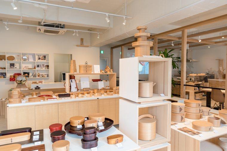伝統工芸品大館曲げわっぱの「柴田慶信商店」