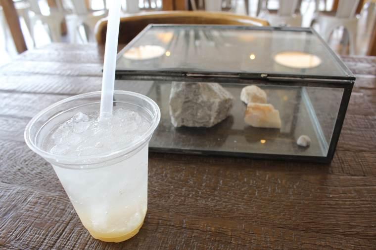 Mine秋吉台ジオパークセンターのコーヒースタンド
