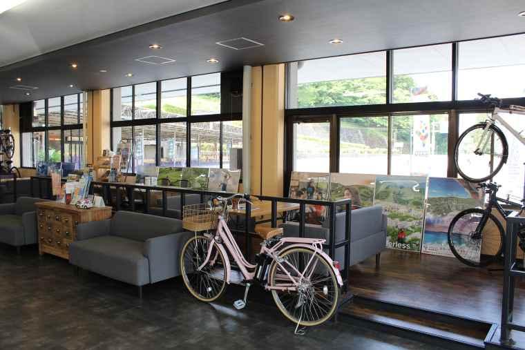 秋吉台観光交流センターのレンタサイクル