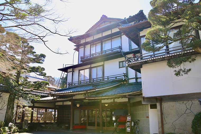新井旅館 外観