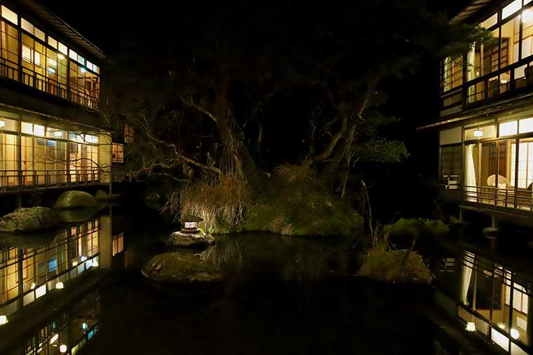 新井旅館 夜景