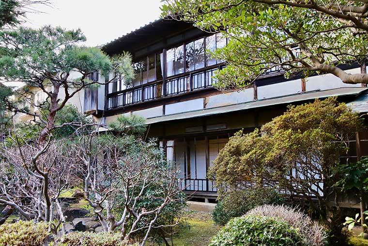 新井旅館 庭