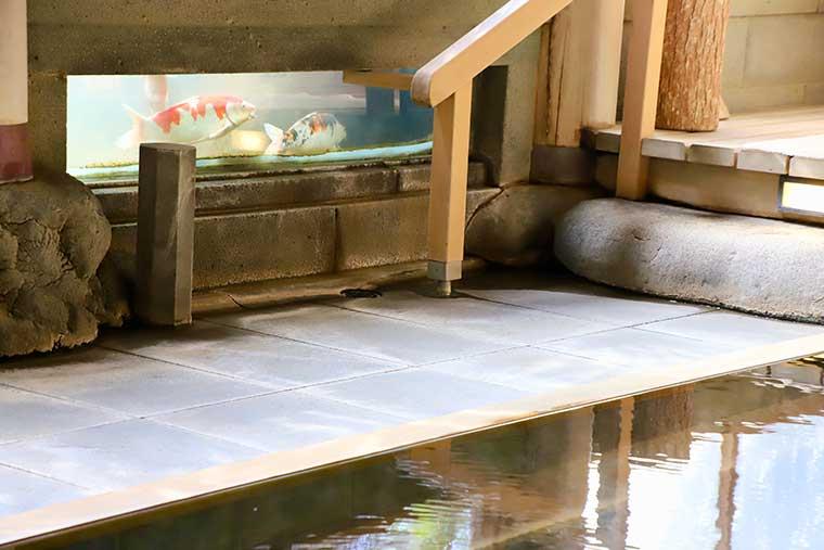 新井旅館「天平大浴堂」