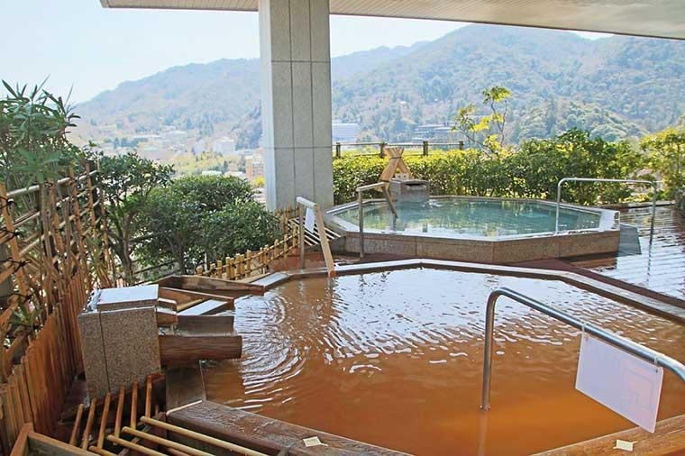 有馬グランドホテル 展望大浴場