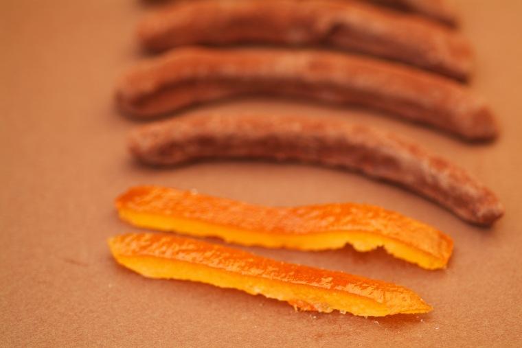リスト「オレンジピールチョコレート」