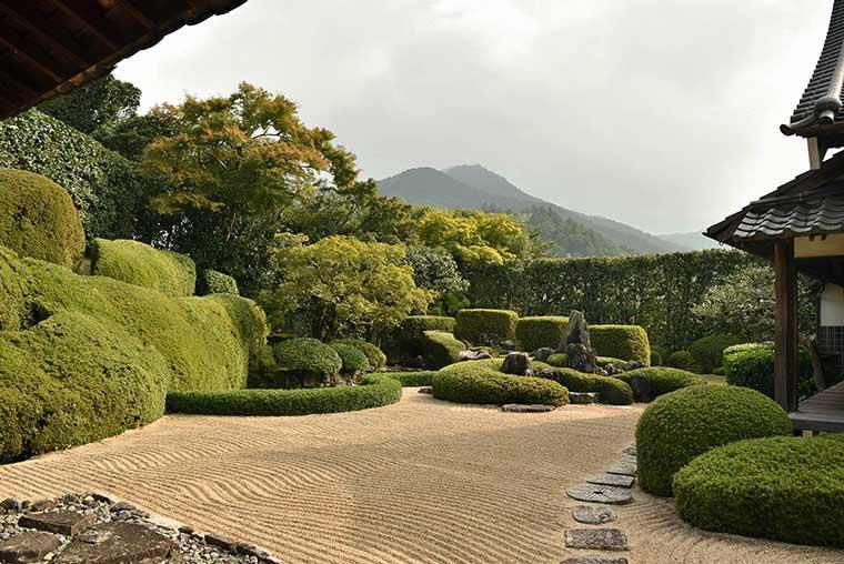 天柱山 頼久寺の庭園