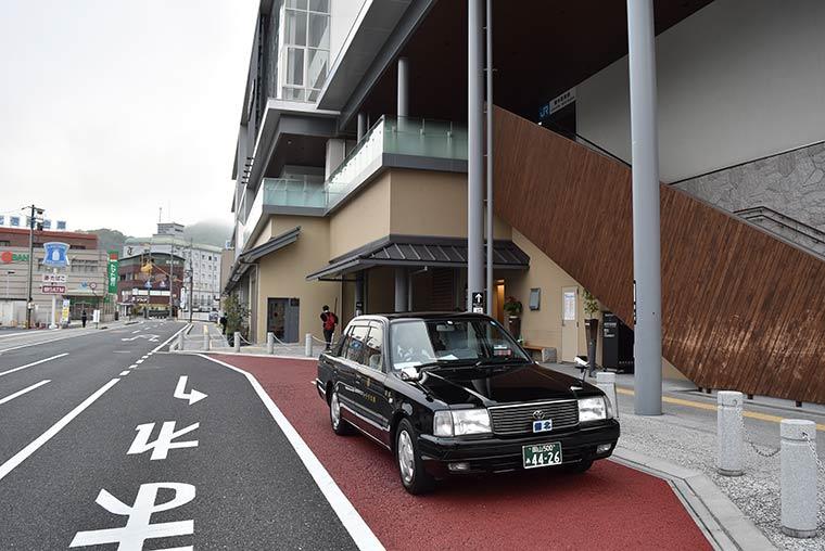 観光乗合雲海タクシー