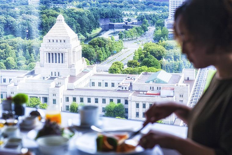 ザ・キャピトルホテル 東急 朝食 国会議事堂