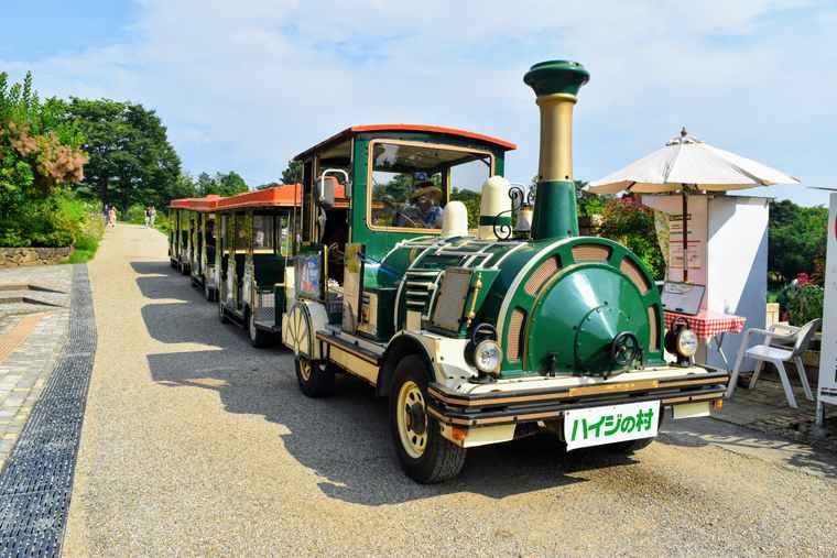 ハイジの村 ロードトレイン「ハイジ号」