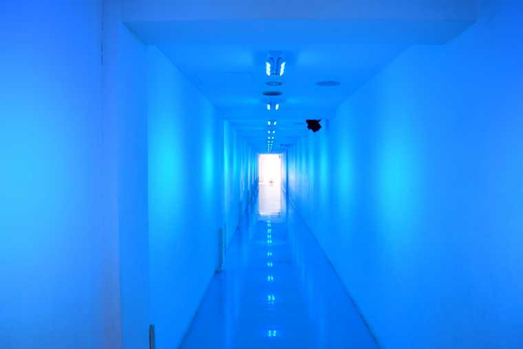 シャトレーゼ白州工場 水のトンネル
