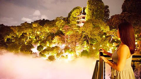 「ホテル椿山荘東京」で雲海の絶景とともにアーバンリゾートを満喫