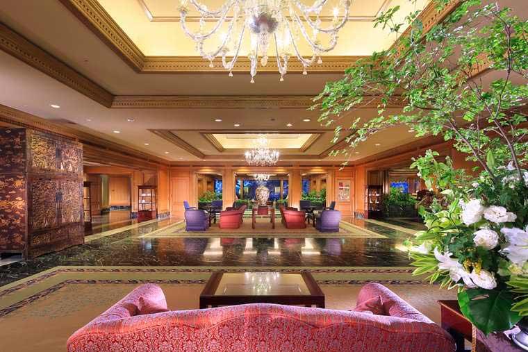 ホテル椿山荘東京 ロビー