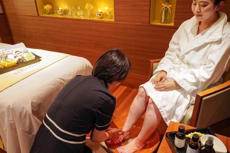 ホテル椿山荘東京 「悠 YU,THE SPA」ロクシタンスパ