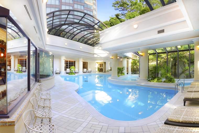 ホテル椿山荘東京 「悠 YU,THE SPA」プール