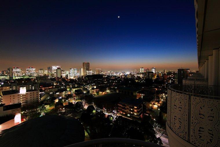 グランドプリンスホテル新高輪 クラブフロア 東京 夜景