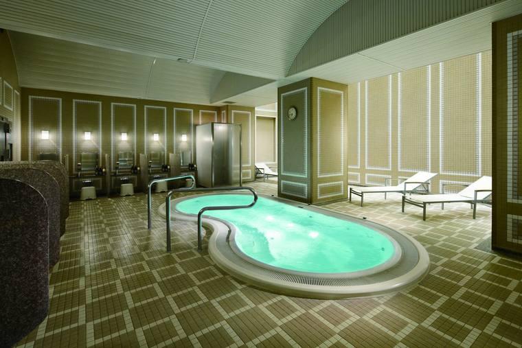 グランドプリンスホテル新高輪 クラブフロア サウナ&ブロアバス