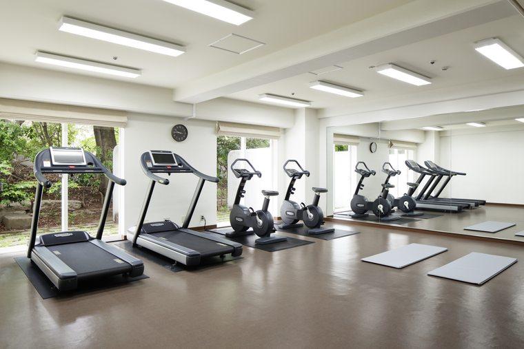 グランドプリンスホテル新高輪 クラブフロア フィットネスルーム