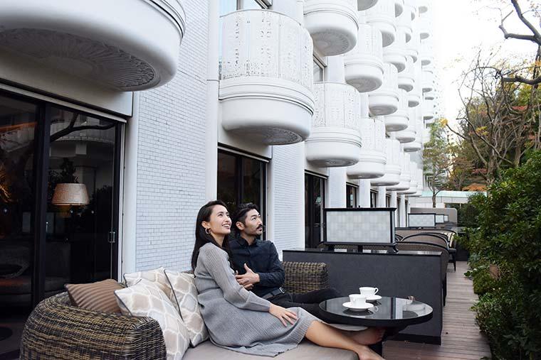 グランドプリンスホテル新高輪 クラブフロア ガーデンテラス