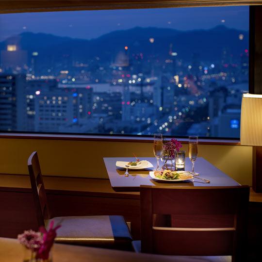 神戸ポートピアホテル クラブフロア