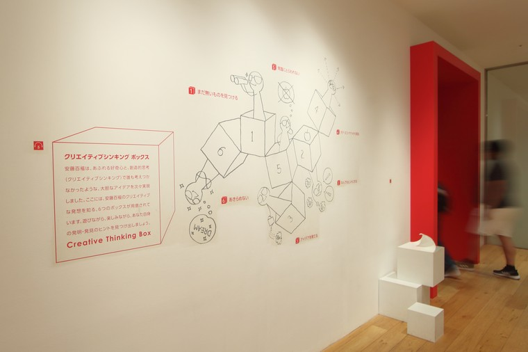 カップヌードルミュージアム 横浜 「クリエイティブシンキング ボックス」