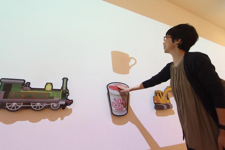 カップヌードルミュージアム 横浜 「なんでもヒントにする」展示
