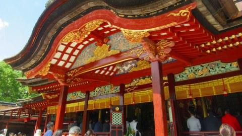 太宰府天満宮と「令和」の舞台の坂本八幡宮へ。太宰府周辺モデルコース