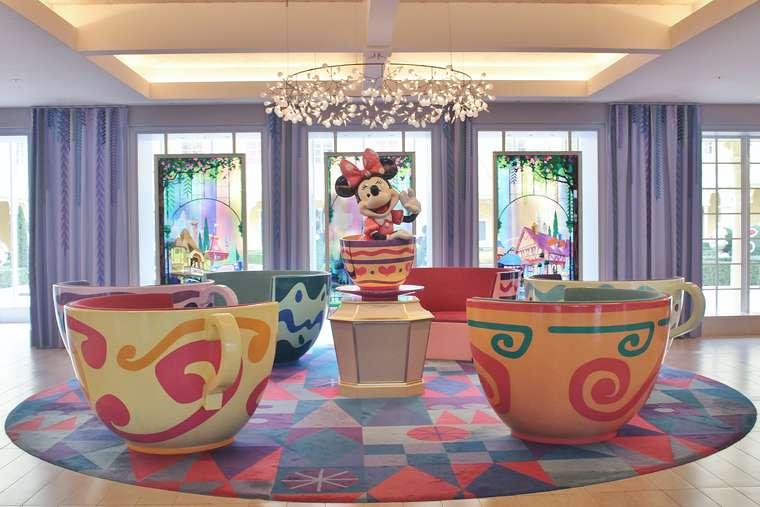 東京ディズニーセレブレーションホテル ウィッシュ ロビー