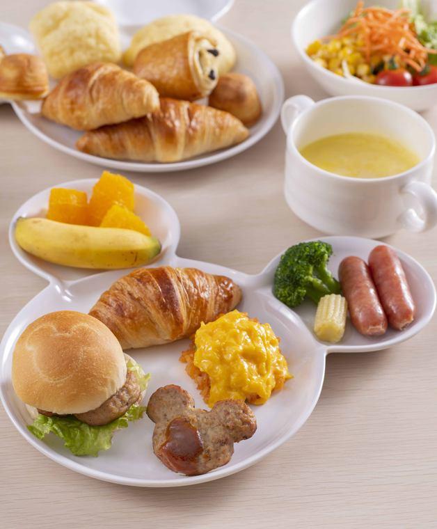 東京ディズニーセレブレーションホテル ウィッシュ 朝食