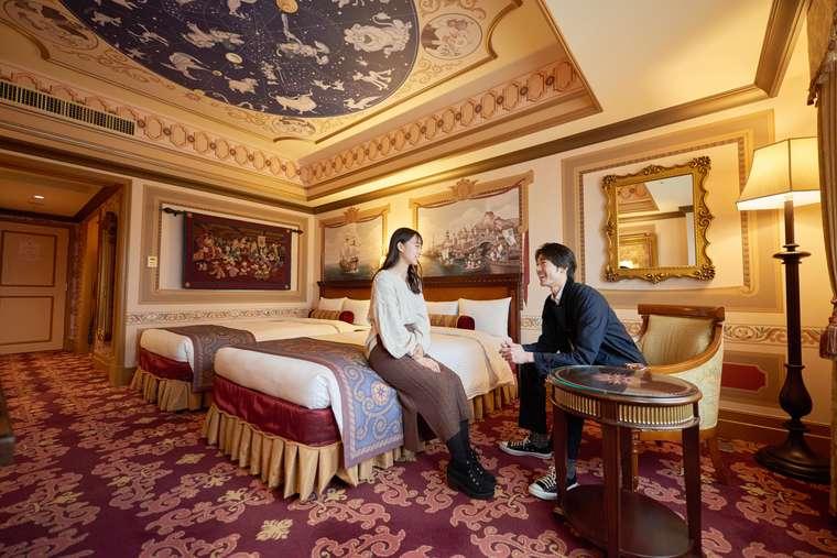 東京ディズニーシー・ホテルミラコスタ カピターノ・ミッキー・スーペリアルーム