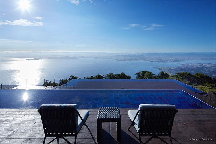 びわ湖テラス「THE MAIN」で琵琶湖の絶景を