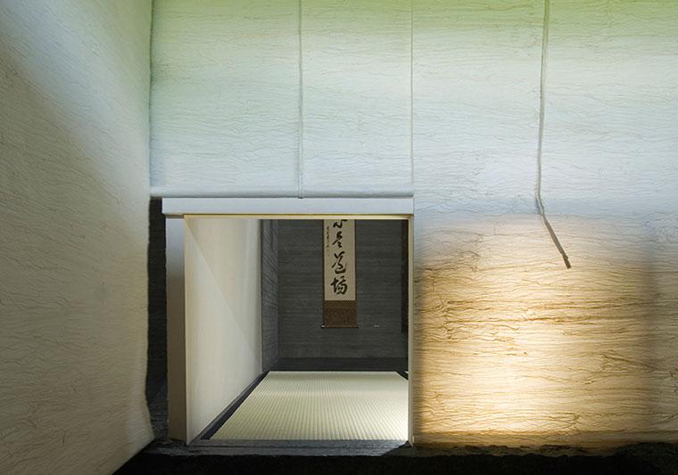 「樂吉左衞門館」茶の間の地下空間へ