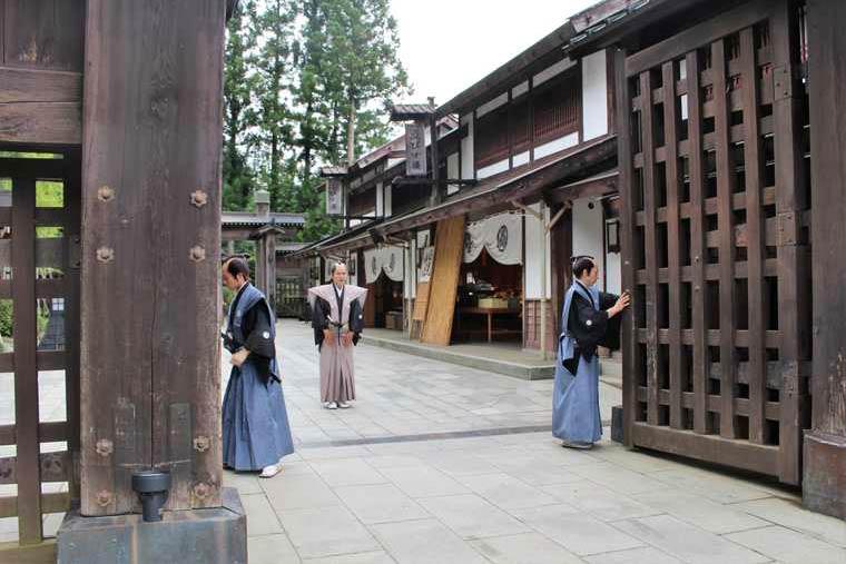 日光江戸村 開門の儀