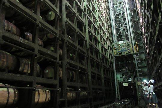 キリンディスティラリ― 富士御殿場蒸溜所