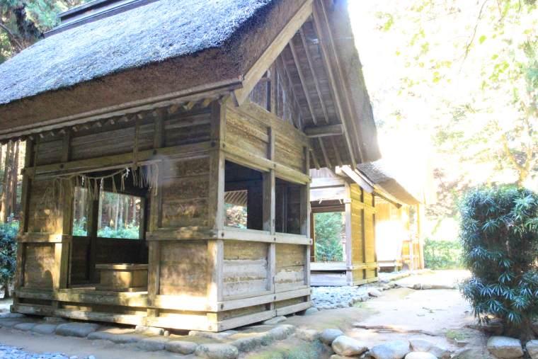 櫻井大神宮は天照大御神と豊受大御神を祀る