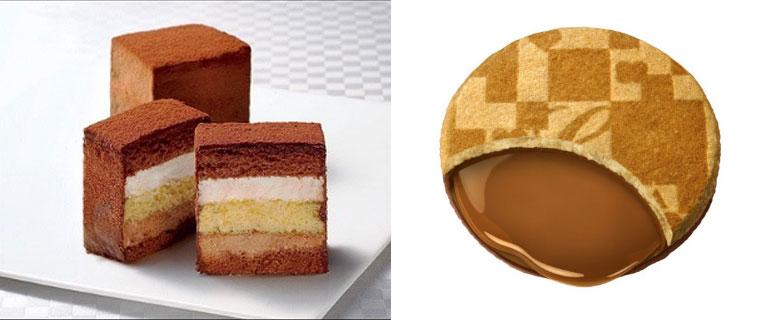 Chocolate Shop 「博多の石畳」ケーキタイプ、キャラメルサンド